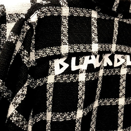 BLACK BLOND/Tweed Long Shirts BLACK
