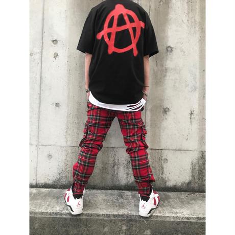 SUS BOY/LOGO Anarchy Tshirts  BLACK