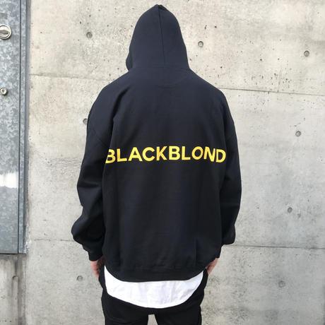 BLACK BLOND/BB logo smile  Hoodie  BLACK