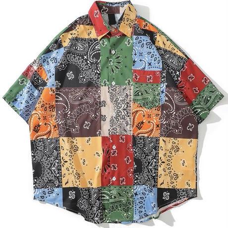 WOSS.official/ BANDANA oversize shirts