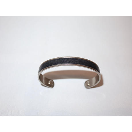 hobo:BRASS BRACELET S with OILED COW LEATHER