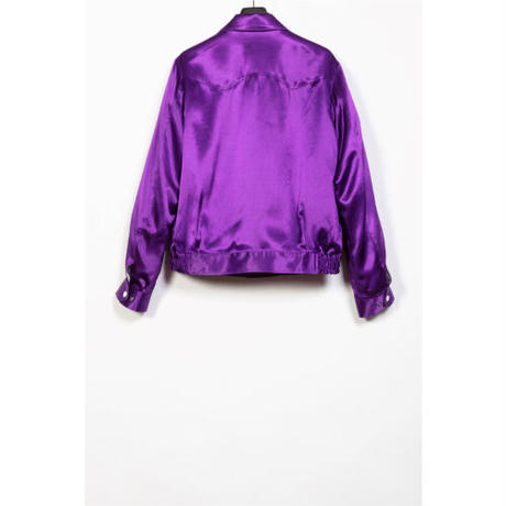 The Letters : WESTERN SPORTS JACKET - RAYON SATIN -