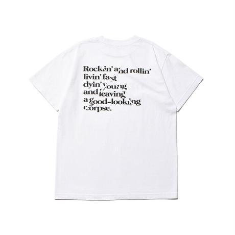 MINEDENIM:True.R Letterd Print Detroit T-SH