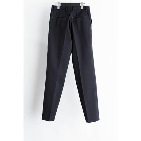 The Letters : CLASSICAL REGULAR TROUSERS - WOOL RANDOM PIQUE -