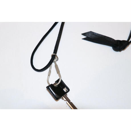 hobo : HORSE LEATHER CORD KEY RING