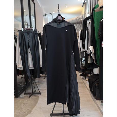 Maison MIHARA YASUHIRO (WOMENS): PLEATS COMBINED DRESS