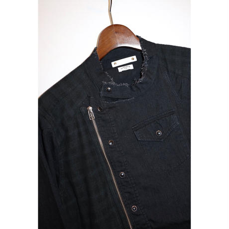OLD PARK × MINEDENIM : Rebuild Riders Shirt  TYPE-C