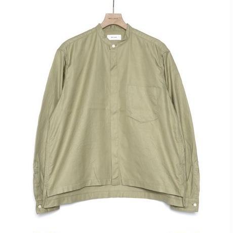 WELLDER : Puckering Sleeve Band Collar Shirt