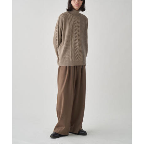 JUHA : SWITCHING MOHAIR TURTLE KNIT
