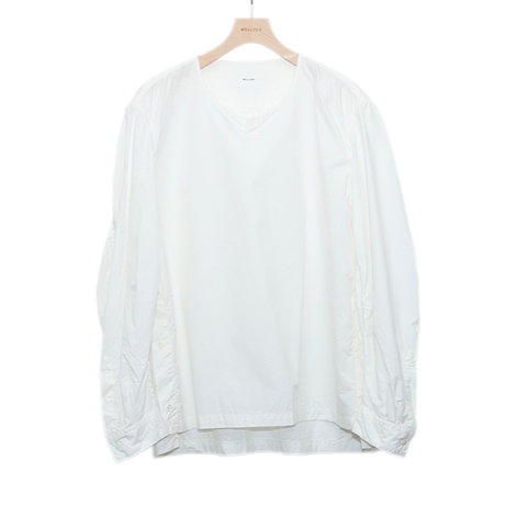 WELLDER : Puckering Sleeve Pullover Shirt