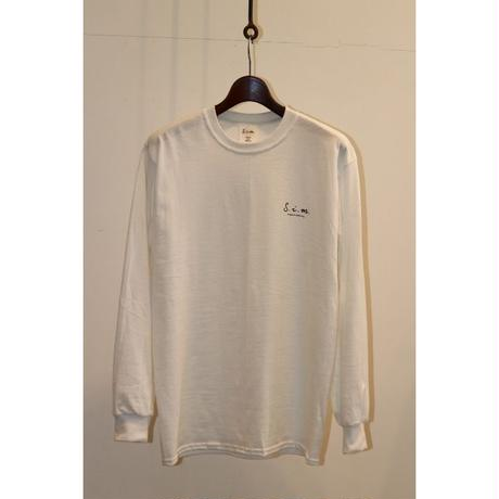 S.i.m : Simple Philosophy Long Sleeve T-shirt