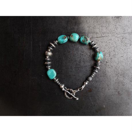 MEL.:Adjust Bracelet(Turquoise)