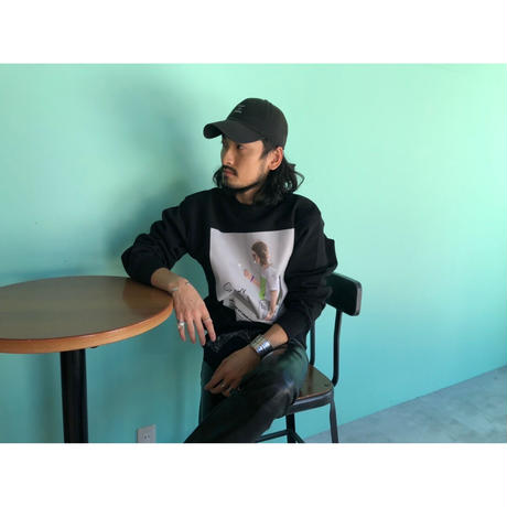 S.i.m × Hide out : Crew Neck Sweat