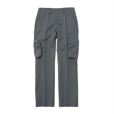 Name. : MATELASSE TWILL CARGO TROUSERS