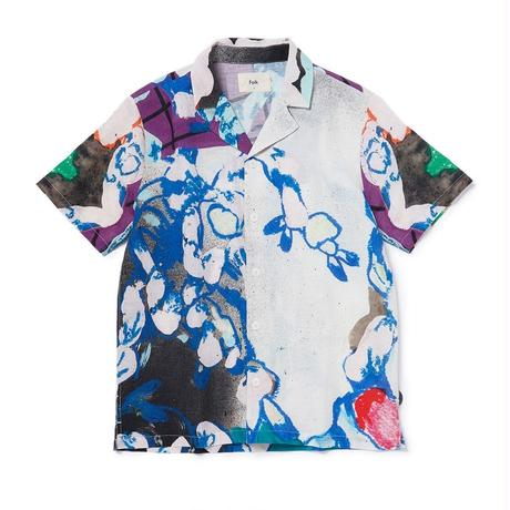 Folk : SS SOFT COLLAR SHIRT ROLLER PRINT BY ALFIE KUNGU