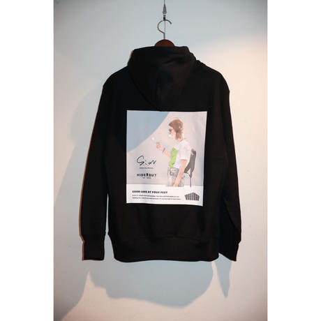 S.i.m × Hide out : Sweat Hoodie