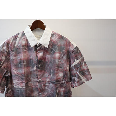 TONSURE : Oversize Short Sleeve Shirt