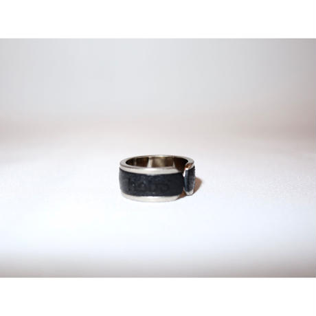 hobo:BRASS RING with OILED COW LEATHER