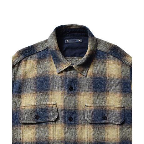 MINEDENIM:Ombre Check Flannel CPO SH