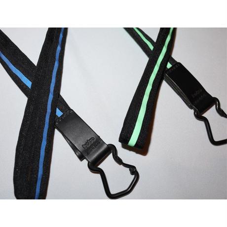 hobo : Nylon Tape Long Key Ring with Reflector