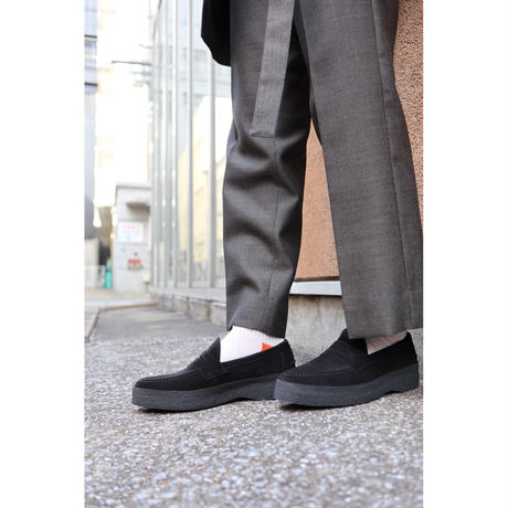 hobo : COW LEATHER LOAFER by SANDERS