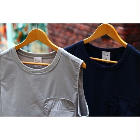 S.i.m : Packable Tech Sleeveless PullOver