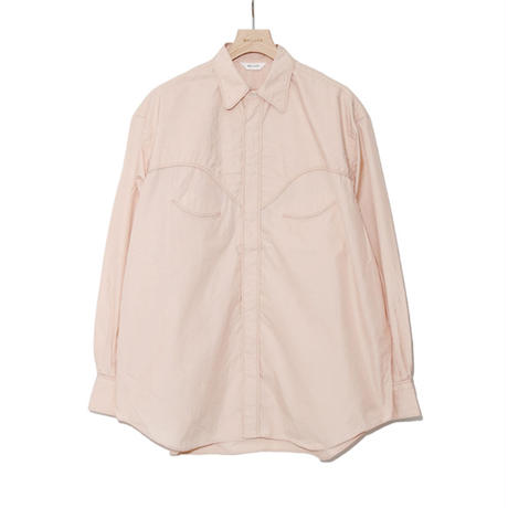 WELLDER : Cord Trimming Western Shirt