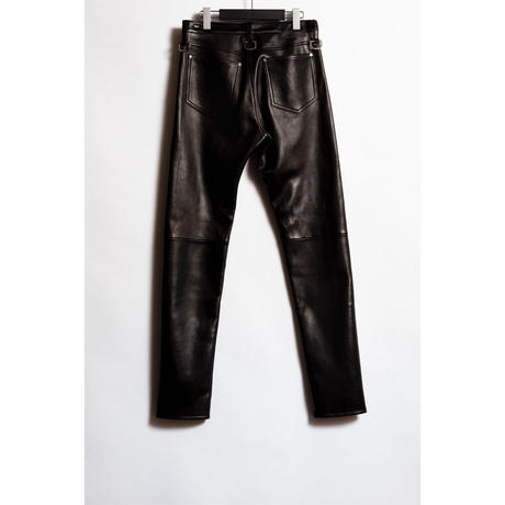 The Letters : 5POCKET D RING SLIM PANTS  - SHEEP SKIN -