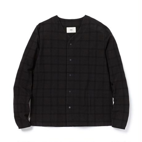 Folk : TAG SHIRT CHECK OVERDYED