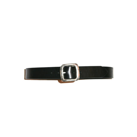 The Letters : 38mm Hammered Buckle Belt