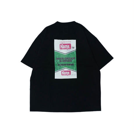 "Name. : H/S PRINT TEE ""POTATO CHIPS"""
