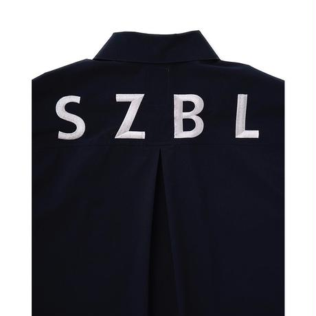Name. × Sasazuka Bowl HALF SLEEVE HALF ZIP SHIRT