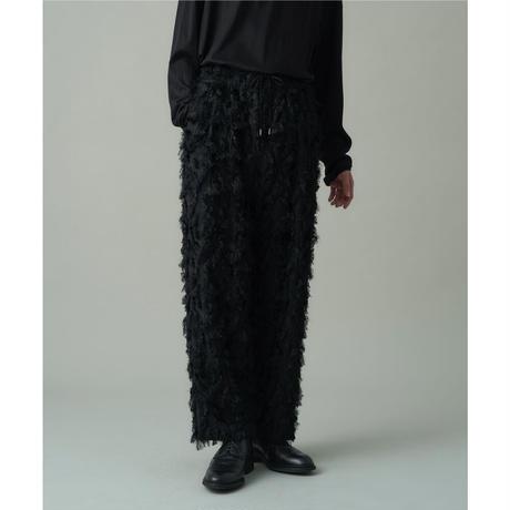 JUHA : LONG CUT JACQUARD PANTS