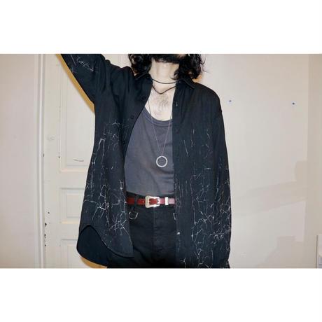 MINEDENIM : BD Crack Loose Shirt