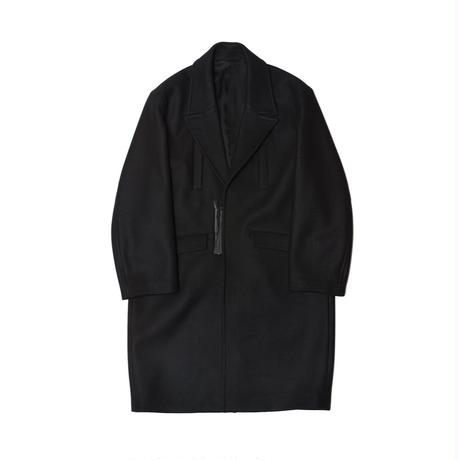 Name. : CASHMERE MELTON CHESTERFIELD COAT