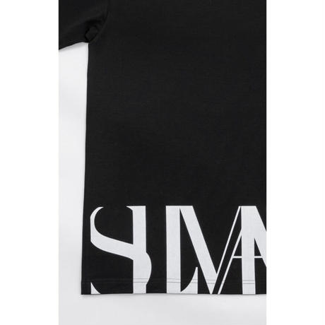 SLIMANE : Bottom Logo Short-Sleeve White