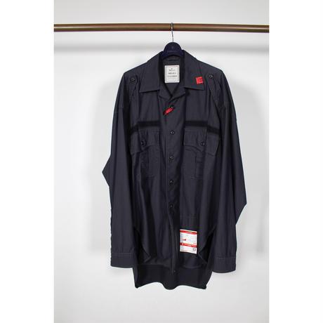 Maison MIHARA YASUHIRO: Resized Military Shirts