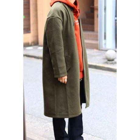S.i.m Collarless Coat