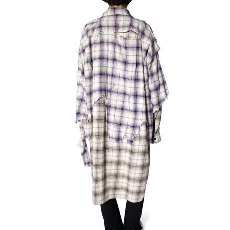 Maison MIHARA YASUHIRO:Broken Layer Long Shirt