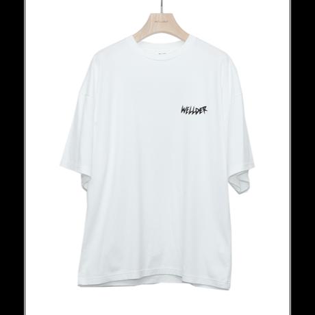 WELLDER : Wide Fit T-Shirts (humms Print)
