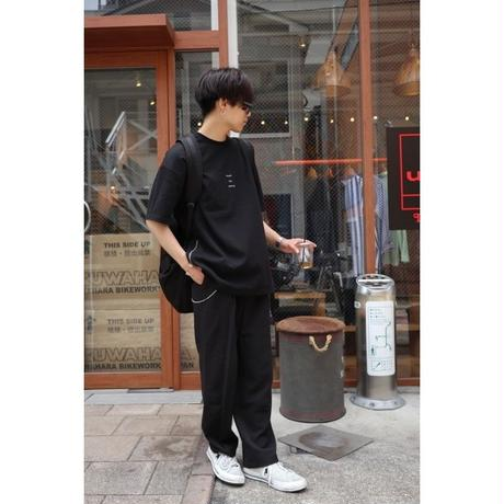 S.i.m  Simple idea making Logo Side Zip T-Shirt