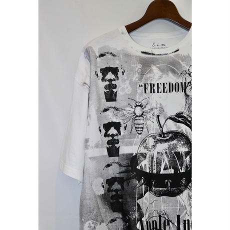 S.i.m : one off freedom T-shirt