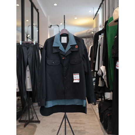Maison MIHARA YASUHIRO : Layered Work Shirt