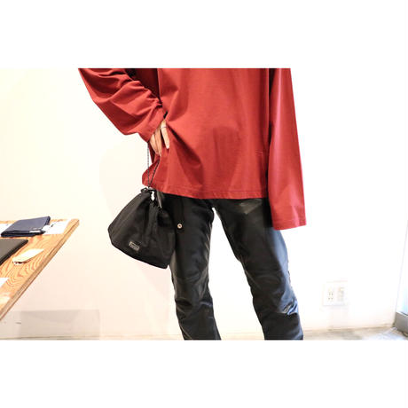 hobo : NYLON TUSSAH DRAWSTRING SHOULDER BAG