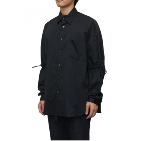 Name. : COTTON DRAWSTRING SHIRT