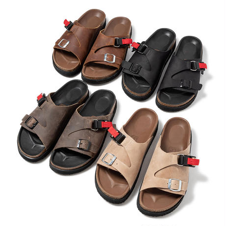 hobo : COW LEATHER SANDAL with FIDLOCK®︎ BUCKLE