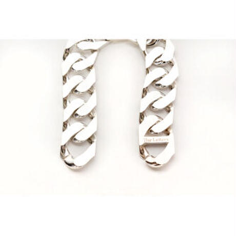 The Letters : CURVE CUT CHAIN 18mm (M Size)