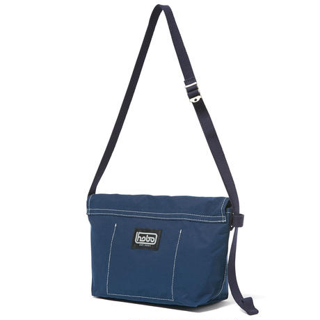 hobo : Cotton Nylon Grosgrain Flap Shoulder Bag