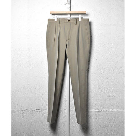 WELLDER : Slim Two Tuck trousers