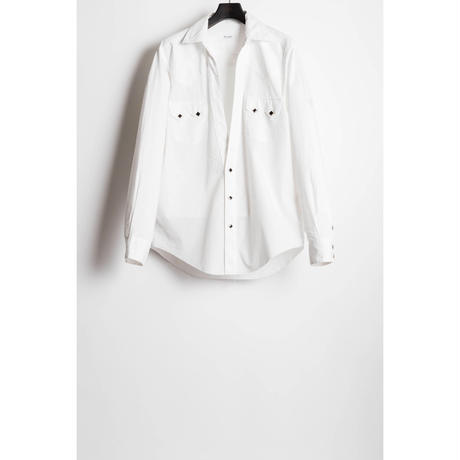 The Letters : WESTEN CUTTING SHIRT - BROAD CLOTH -